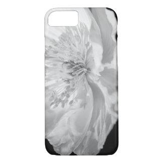 Capa iPhone 8/ 7 Papoila branca