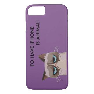 CAPA iPhone 8/ 7 PARA TER IPHONE É ANIMAL!