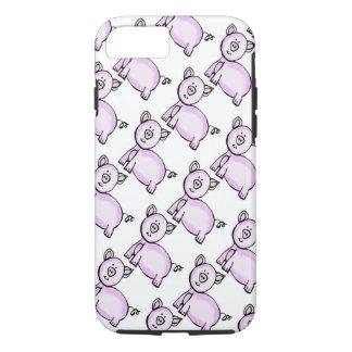 Capa iPhone 8/ 7 Parada cor-de-rosa do porco
