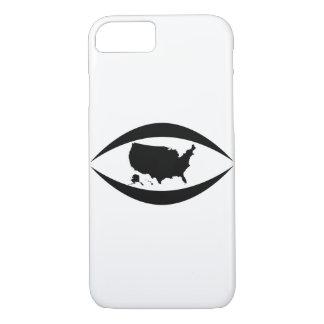 Capa iPhone 8/ 7 Pare de olhar as pessoas dos EUA