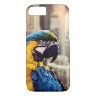 Capa iPhone 8/ 7 Pássaro na cidade