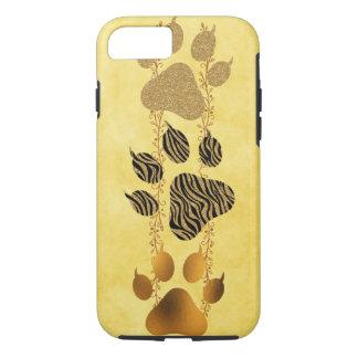 Capa iPhone 8/ 7 Patas do tigre com garras