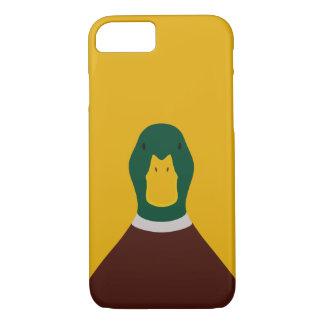 Capa iPhone 8/ 7 Pato selvagem - ilustração do pássaro