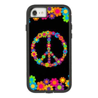 Capa iPhone 8/ 7 Paz customizável de flower power do pop