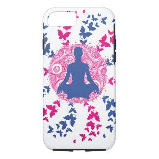 Capa iPhone 8/ 7 paz de espírito positiva da energia da meditação