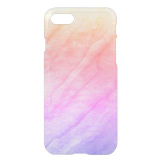 Capa iPhone 8/7 Pedra da aguarela de Shell da madrepérola