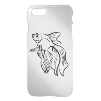 Capa iPhone 8/7 Peixes de combate Siamese