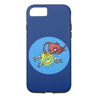 Capa iPhone 8/ 7 peixes profundos sneaky que vão enganar o cartoo