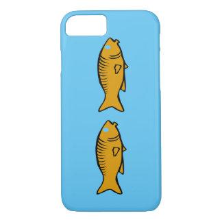 Capa iPhone 8/ 7 peixes que nadam