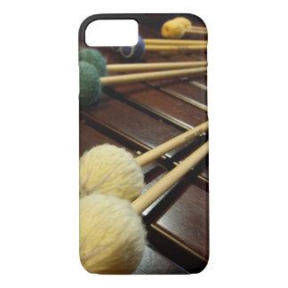 Capa iPhone 8/ 7 pele resistente do Marimba do iPhone