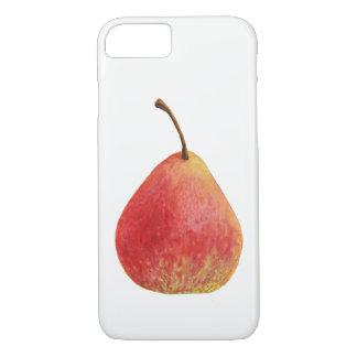 Capa iPhone 8/ 7 Pera vermelha suculenta