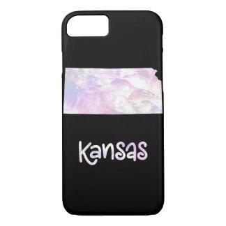 Capa iPhone 8/ 7 Perolado Opalescent iridescente do estado de KS