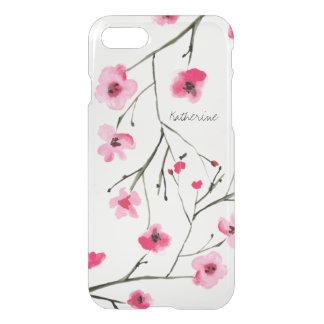 Capa iPhone 8/7 Personalizada, flor de cerejeira japonesa da