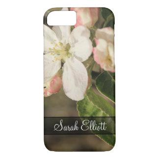 Capa iPhone 8/ 7 Personalizado com a foto das flores da árvore de