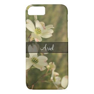 Capa iPhone 8/ 7 Personalizado com a foto das flores do Dogwood, 2