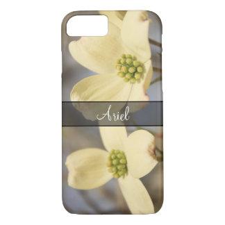 Capa iPhone 8/ 7 Personalizado com a foto de 2 flores do Dogwood