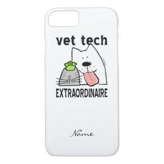 Capa iPhone 8/ 7 Personalize a tecnologia do veterinário do