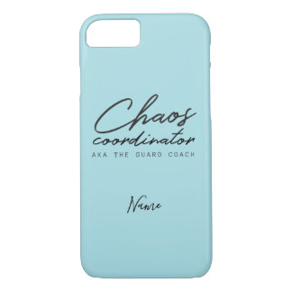 Capa iPhone 8/ 7 Personalize este treinador da guarda de cor