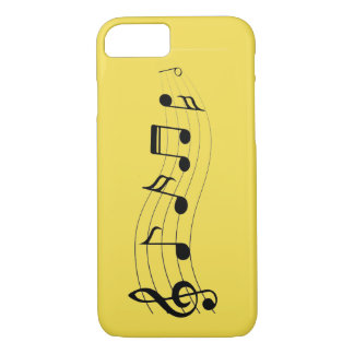 Capa iPhone 8/ 7 Personalize notas musicais