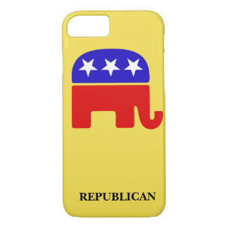 Capa iPhone 8/ 7 Personalize o elefante republicano