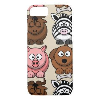 Capa iPhone 8/ 7 Personalize o exemplo bonito dos animais da