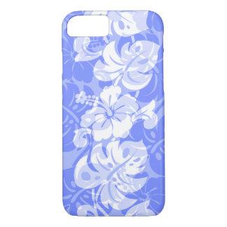 Capa iPhone 8/ 7 Pervinca havaiana do hibiscus da beira de Kalakaua