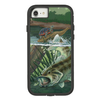 Capa iPhone 8/ 7 Pesca da perda Largemouth