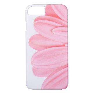 Capa iPhone 8/ 7 Pétala cor-de-rosa do Gerbera