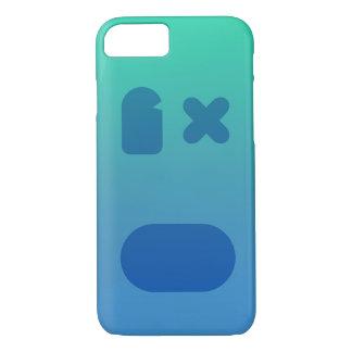 Capa iPhone 8/ 7 PhoneCase azul esverdeado