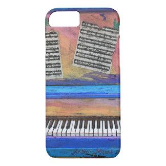 Capa iPhone 8/ 7 Piano colorido