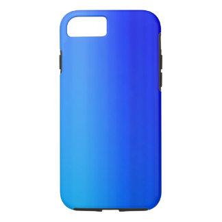 Capa iPhone 8/ 7 Pintura azul brilhante da aguarela de Ombre