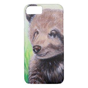 Capa iPhone 8/ 7 Pintura do urso de urso do bebê