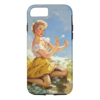 Capa iPhone 8/ 7 Pinup das margaridas