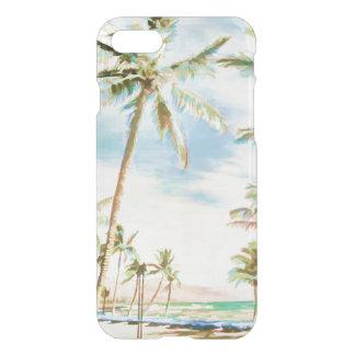 Capa iPhone 8/7 PixDezines Havaí/vintage/praia/céu azul