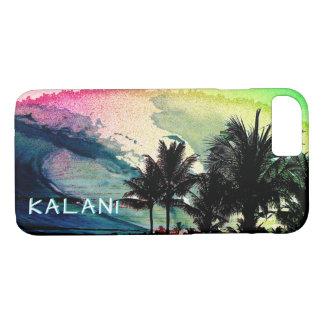 Capa iPhone 8/ 7 PixDezines surfa Up/Hawaii/Waves