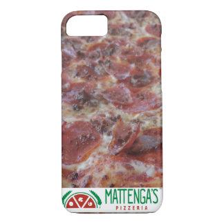 Capa iPhone 8/ 7 Pizza da carne do Molto de Mattenga