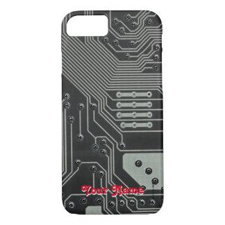 Capa iPhone 8/ 7 Placa de Circuito Impresso