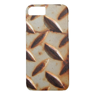 Capa iPhone 8/ 7 Placa oxidada do diamante do metal