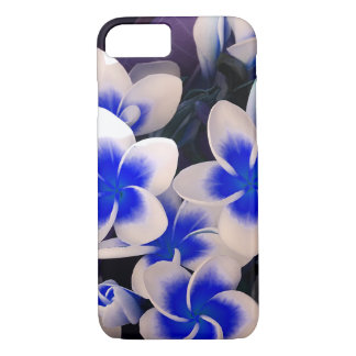 Capa iPhone 8/ 7 Plumeria tropical das flores
