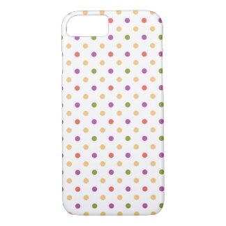 Capa iPhone 8/ 7 Polkadots brilhante
