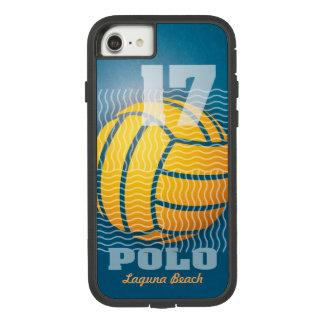 Capa iPhone 8/ 7 Pólo aquático #17 em azul escuro