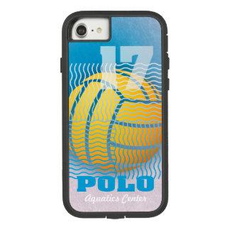 Capa iPhone 8/ 7 Pólo aquático #17 em ciano