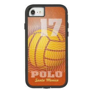 Capa iPhone 8/ 7 Pólo aquático #17 na laranja