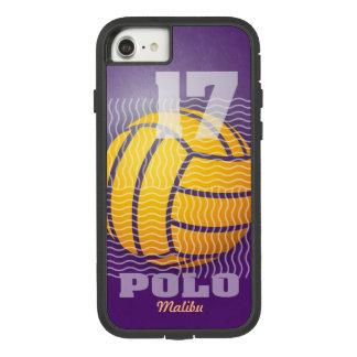 Capa iPhone 8/ 7 Pólo aquático #17 no roxo