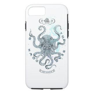 Capa iPhone 8/ 7 Polvo - clube 76 de sal - para baixo pelo mar
