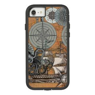 Capa iPhone 8/ 7 Polvo náutico do navio do impressão da arte do