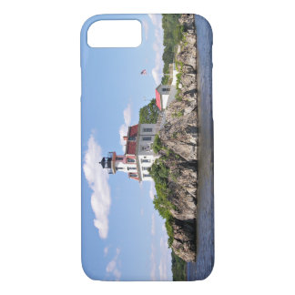 Capa iPhone 8/ 7 Pomham balança o farol, Rhode - ilha