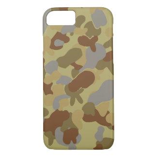 Capa iPhone 8/ 7 PONTO MÉDIO de Austrália Auscam da camuflagem do