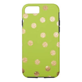 Capa iPhone 8/ 7 Pontos da cidade do verde limão e do ouro