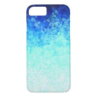 Capa iPhone 8/ 7 Pontos do Aqua - iPhone de Apple 8/7 de caso